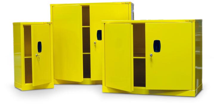 hazardous-substance-cabinets-group-open