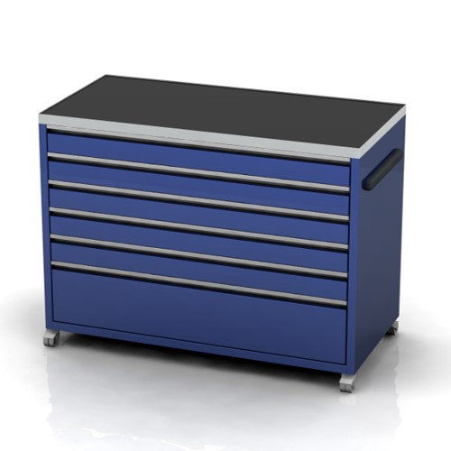 Large under bench tool cabinet