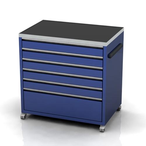 Medium under bench tool cabinet