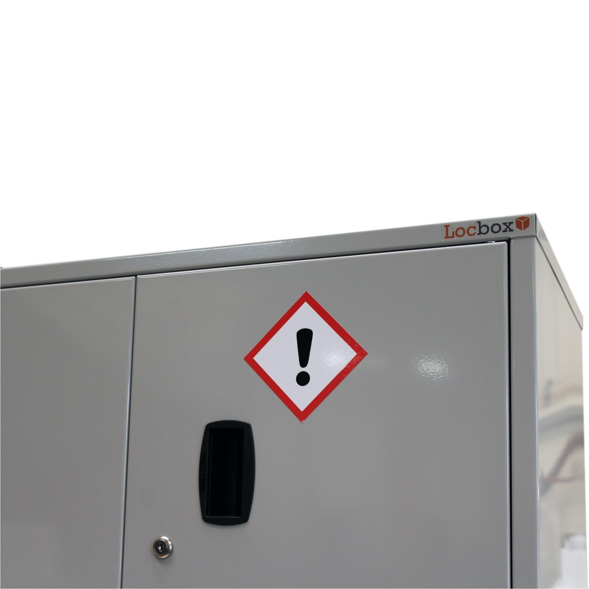 700mm D W CoSHH Cabinet H x 900mm x 460mm
