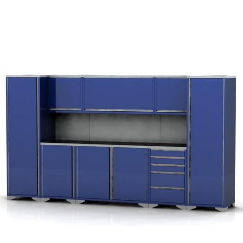 Garage Furniture Pre-designed assembly package 3
